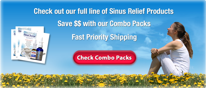 Sinus Relief Products Slide